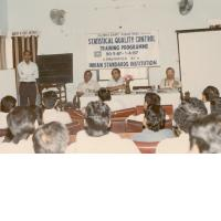Statistical quality control training programme