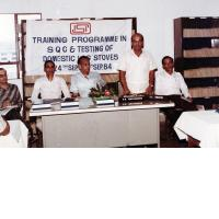 Training Programme in SQC and Testing for LPG Gas Stove