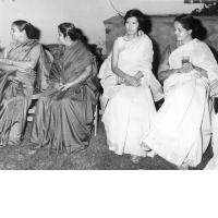 Foreign trainees in a party at the residence of Dr. Ghosh former DG ISI in 1970