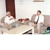 Visit of Mr. A.M Rachrun, Gen Secretary IEC